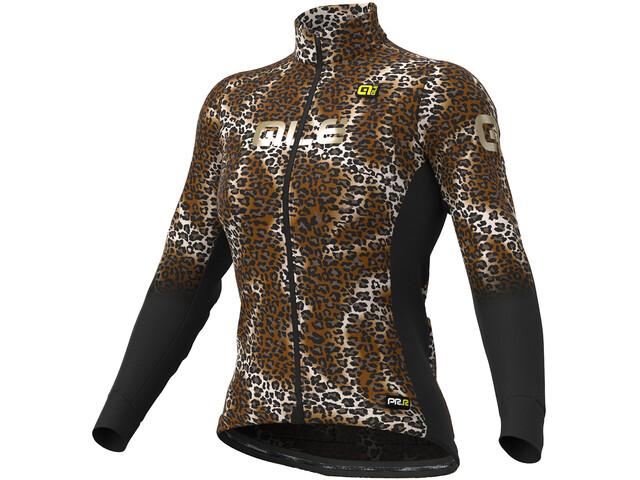 Alé Cycling Graphics PRR Maculato Micro Maillot À Manches Longues Femme, black